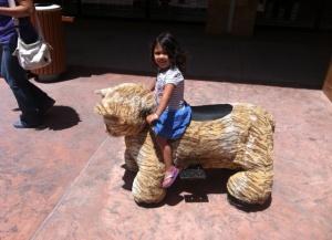 animal rides at mall 2
