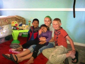 kids with Juan and Lizette
